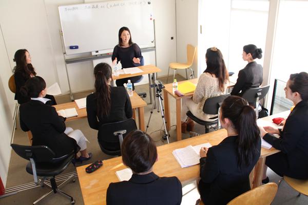 エアライン授業風景